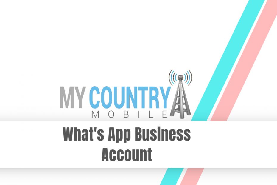 Whats App Business Account - My Country Mobile